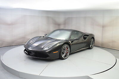 2016 Ferrari 488 Spider in Black with 5,529 miles, Fully Loaded 2016 FERRARI 488 SPYDER IN BLACK WITH BLACK INTERIOR LOW MILES FULLY LOADED