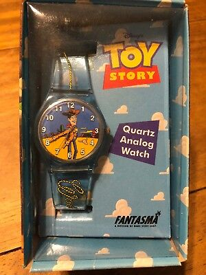 DISNEY 1995 TOY STORY WOODY Watch Pixar NEW Original Vintage NEVER OPENED Quartz