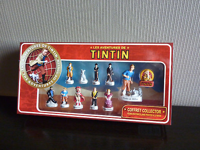 Tintin Coffret Collector Feves