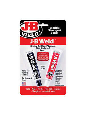 J-B Weld High Strength Original Cold Weld Two part Epoxy 8265-S