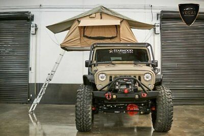 2017 Jeep Wrangler Unlimited Rubicon Hard Rock Method Race Wheels, Exo-Cage & SmittyBilt Tent