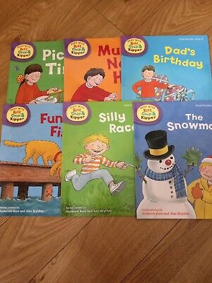 Oxford Reading: Read with Biff,Chip & Kipper. First Stories Level 2(6 Books)