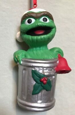 Sesame Street Jim Henson Oscar The Grouch Garbage Can