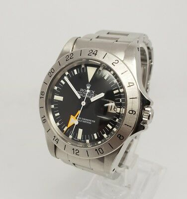 Rolex Vintage Explorer II 2 Steve McQueen 1655 Steel 40mm 1979 Watch