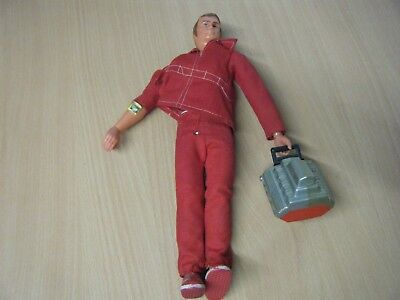 RARE VINTAGE SIX MILLION DOLLAR MAN FIGURE/DOLL COMPLETE 1970s TOY FROM KENNER
