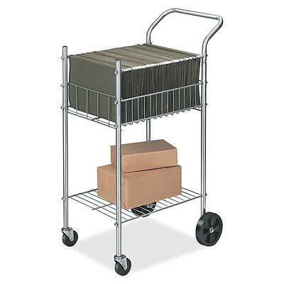 "Fellowes Mail Cart Holds 75 Ltr/Lgl Fldrs 19-1/2""x26""x40-1/4"" CE 4092001"