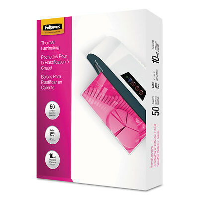 Fellowes Laminating Pouches 10mil 11 1/2 x 9 50/Pack 52042