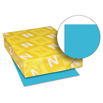 Neenah Paper Astrobrights Colored Card Stock 65 lb. 8-1/2 x 11 Lunar Blue 250