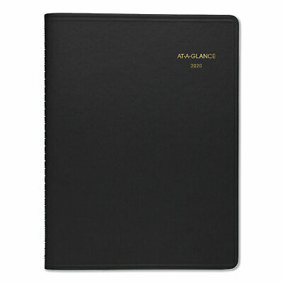 AT-A-GLANCE Weekly Appointment Book 8 1/4 x 10 7/8 Black 2019 7095005