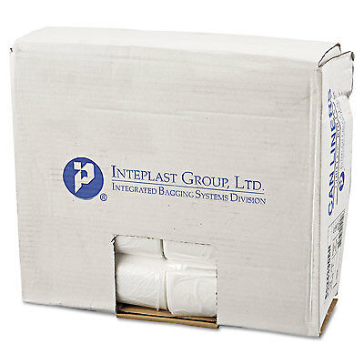 Inteplast Group Commercial Can Liners Perforated Roll 16gal 24 x 33 Natural 1000