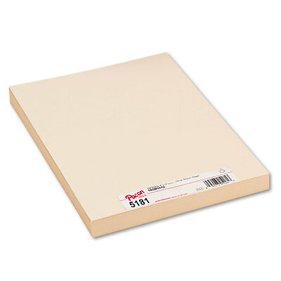 Pacon Medium Weight Tagboard 12 x 9 Manila 100/Pack 5181
