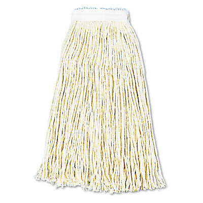Boardwalk Premium Cut-End Wet Mop Heads Cotton 16oz White 12/Carton 216CCT