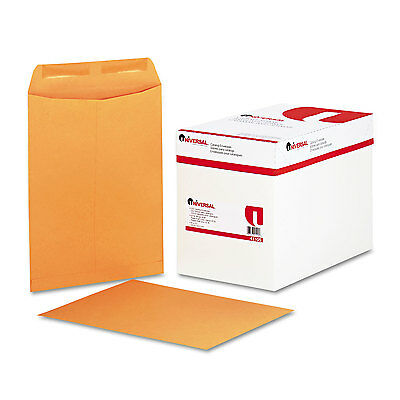 UNIVERSAL Catalog Envelope Center Seam 9 x 12 Brown Kraft 250/Box 41105