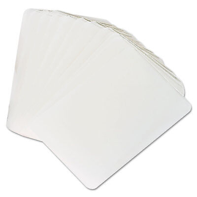 UNIVERSAL Clear Laminating Pouches 5 mil 2 1/8 x 3 3/8 Business Card Style 25