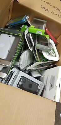 Over 100 Cellphone cases and Accessories - Lot - NEW and used