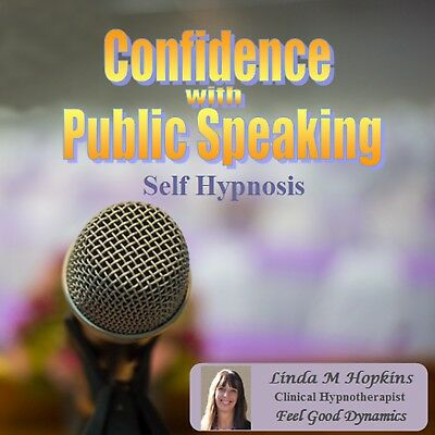 Confidence With Public Speaking CD - Self Hypnosis - Guided Meditation