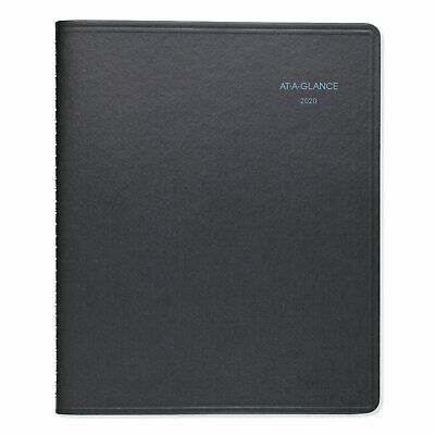 At-A-Glance QuickNotes Weekly/Monthly Appointment Book 8 x 9 7/8 Black 2019