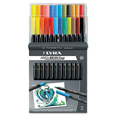 Lyra Dual Tip Marker Assorted 24/Pack 6521240