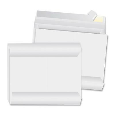 """Business Source Expansion Envelopes Open Side 12""""x16""""x2"""" 100/CT White 65804"""