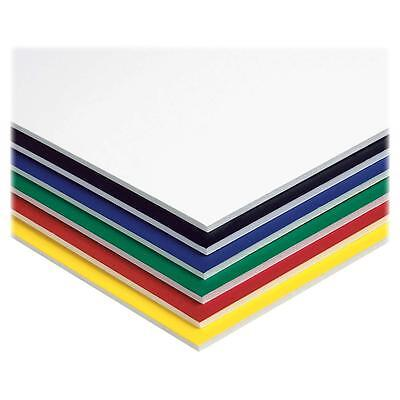 "Pacon Foam Board 3/16"" Thick 20""x30"" 10/CT Assorted 5554"