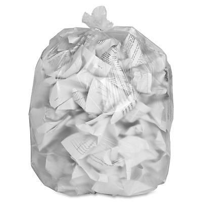"Special Buy Trash Bag Liners 43""x46"" 14 mic High Density 200/CT Clear HD434814"