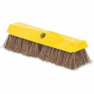 "Rubbermaid Deck Brush 2"" Bristles Plastic Block 10""L YW 9B3400"