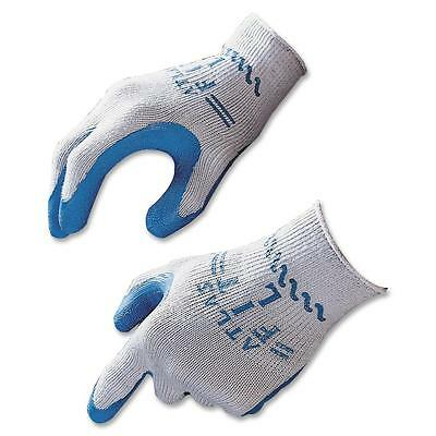 Showa Best Safety Gloves Natural Rubber Large Blue/Gray 30009