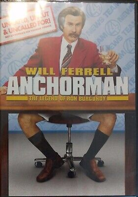 Anchorman DVD with Will Ferrell Region 2