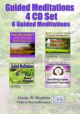 Guided Meditation 4 Cd Box Set -  6 Guided Meditations