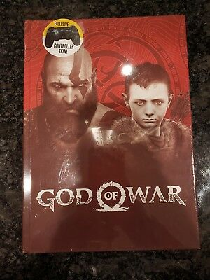 God of War: Collector's Edition Guide Book Prima Games (Hardcover) W/Skin