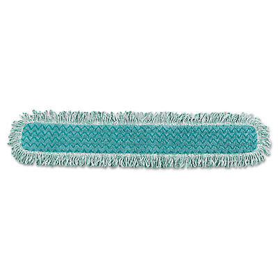"Rubbermaid Commercial HYGEN Dry Dusting Mop Heads with Fringe 36"" Microfiber"