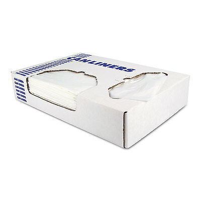 Heritage Low-Density Can Liners 12-16 gal 0.35 mil 24 x 32 Clear 1000/Carton