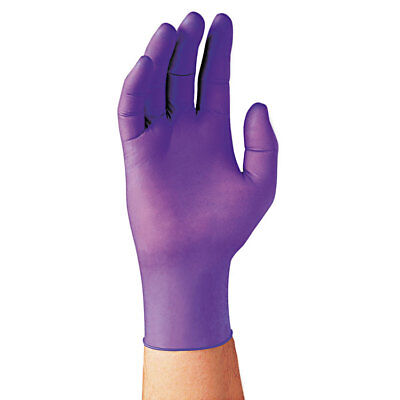 Kimberly-Clark Professional* PURPLE NITRILE Exam Gloves Large Purple 100/Box