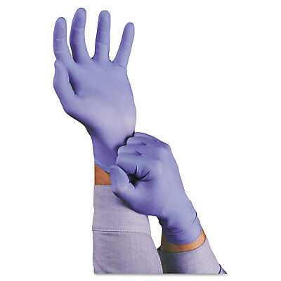 AnsellPro TNT Disposable Nitrile Gloves Non-powdered Blue Medium 100/Box 92675M