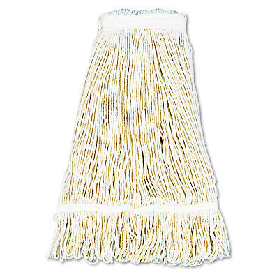 Boardwalk Pro Loop Web/Tailband Wet Mop Head Cotton 24oz White 12/Carton 424CCT