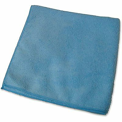 "Genuine Joe Microfiber Cloth Glass/Mirror Cleaning 1DZ 16""x16"" BE 39506"