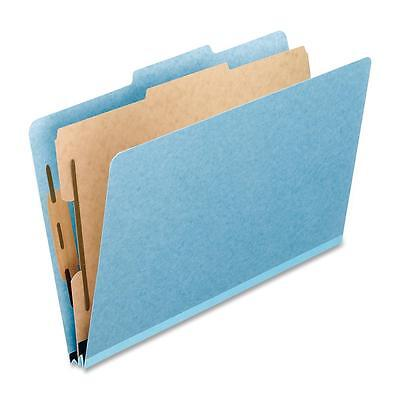 "TOPS Products Classification Folder Letter 4 Fast 2"" Exp 10/BX Blue 02614"