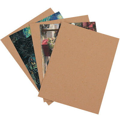 "Box Partners Chipboard Pads 10"" x 10"" Kraft 800/Case CP1010"