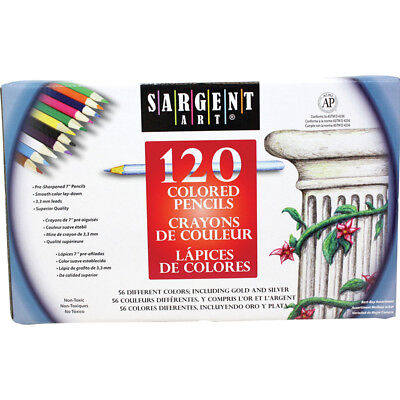 Sargent Art Colored Pencils 120Ct 227252
