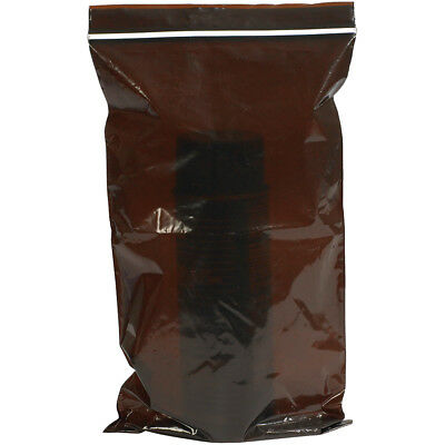 "Minigrip Lab Guard Reclosable 3 Mil UV Protection Bags 8"" x 14"" Amber 500/Case"