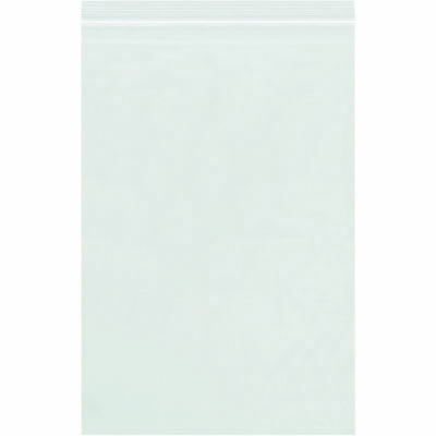 """Box Partners Reclosable 2 Mil Poly Bags 6"""" x 20"""" Clear 1000/Case PB3626"""