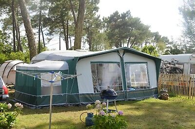 Great quality size 12 Dorema Senator Lux awning + 2 tall annex compartments
