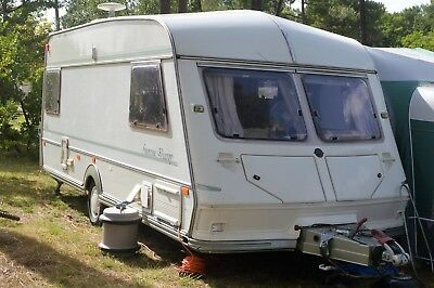 1996 double end ABI Jubilee Supreme Viceroy 5 birth caravan  - Spares or repairs