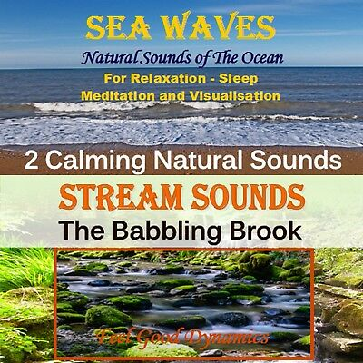 Nature Sounds Cd - Sea Waves And Stream Sounds For Relaxation And Sleep