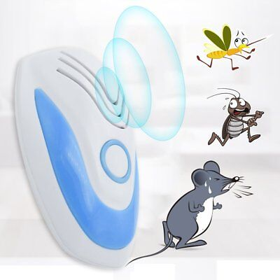 Non-Toxic Ultrasonic Electronic Ultrasonic Mouse Mosquito Insect Repeller SY /k