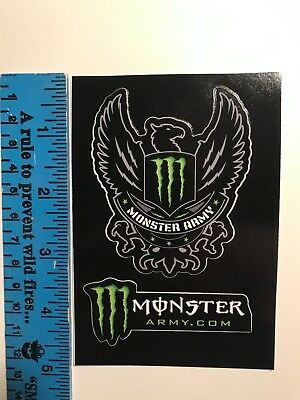 **Exclusive Monster Energy Army Stickers (ATHLETES ONLY)**