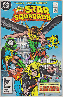 All-Star Squadron#67 Vf/nm  1987 Final Issue Dc Comics