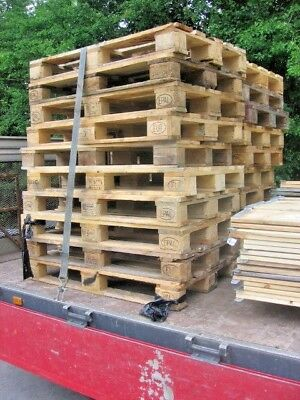 1 Stamped Heavy Duty Euro Pallet & 1 Euro Collar .... Box / Crate, Choice