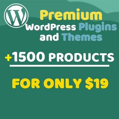 WordPress - PLUGINS AND THEMES - Mega Collection: Only $4.9 Each (3x1 OFFER)