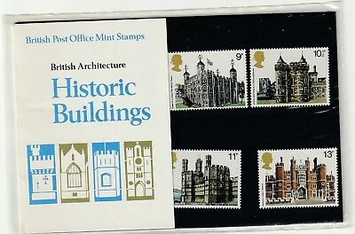 GB 1978 British Architecture Historic Buildings Presentation Pack No. 100